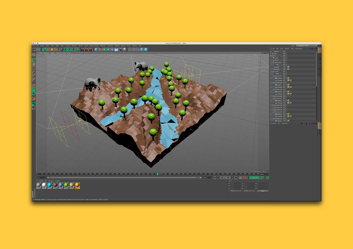 Proses 3D modeling